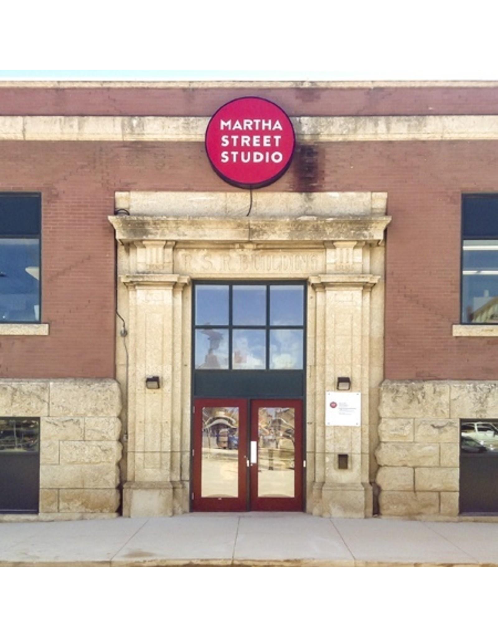 Martha Street Studio 1 year membership - Regular