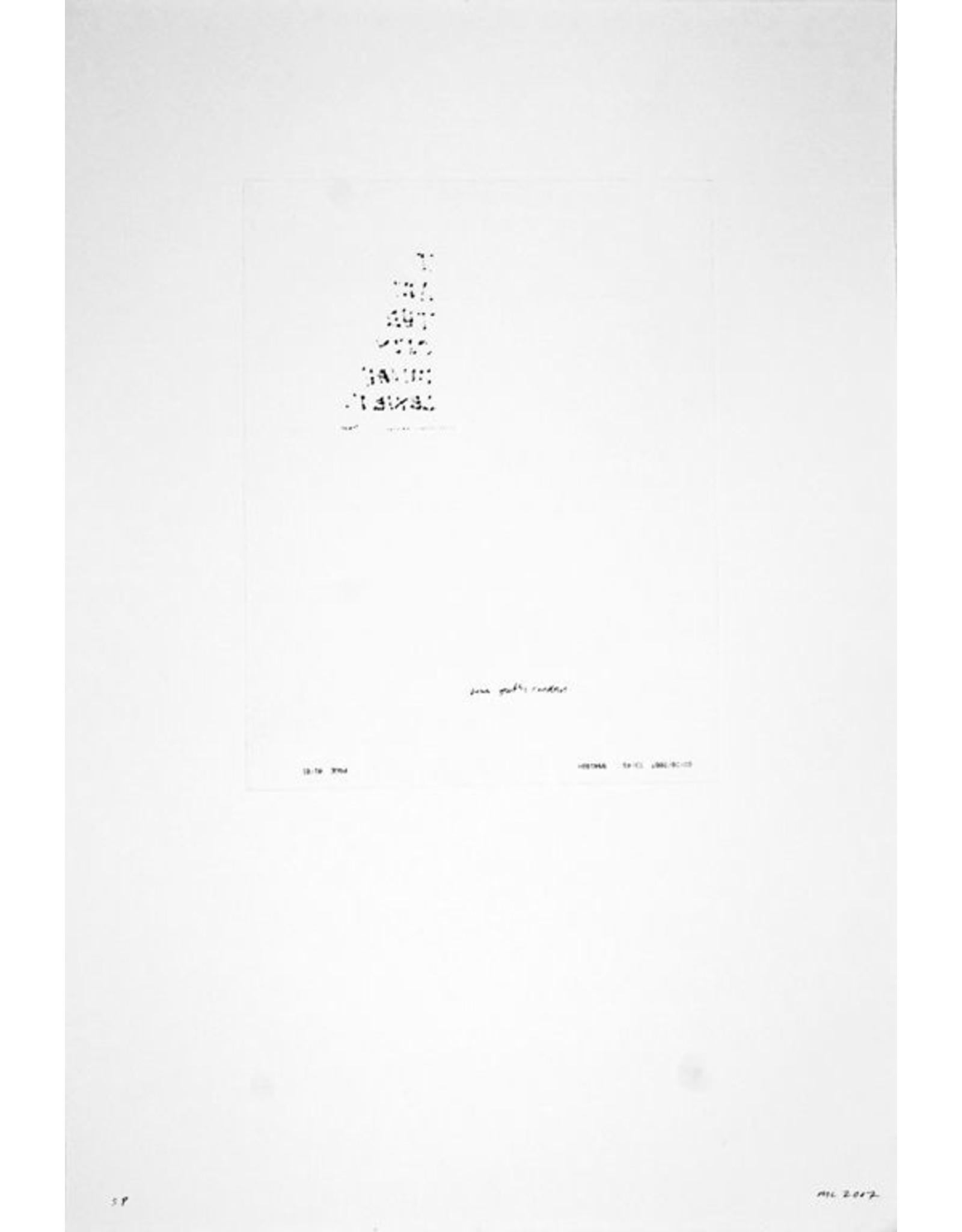 Lexier, Micah A Sentence (fax), Micah Lexier