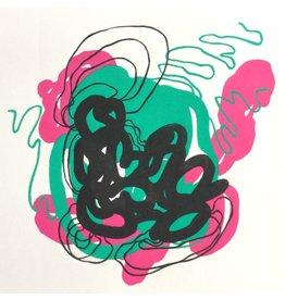 Keast, Bram untitled (green, red and black), Bram Keast