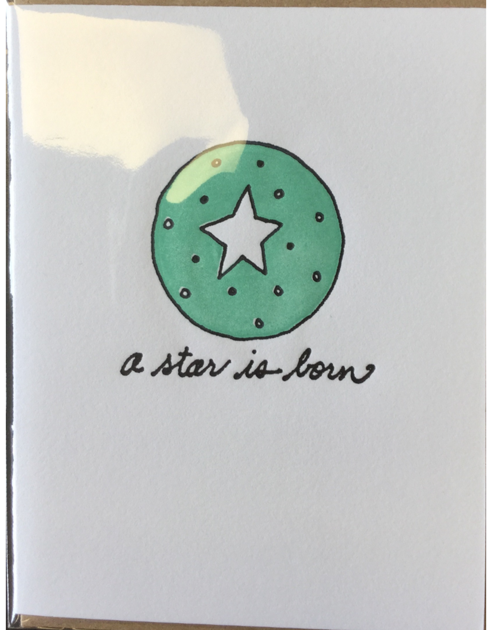 Karen Fuhr A star is born, card