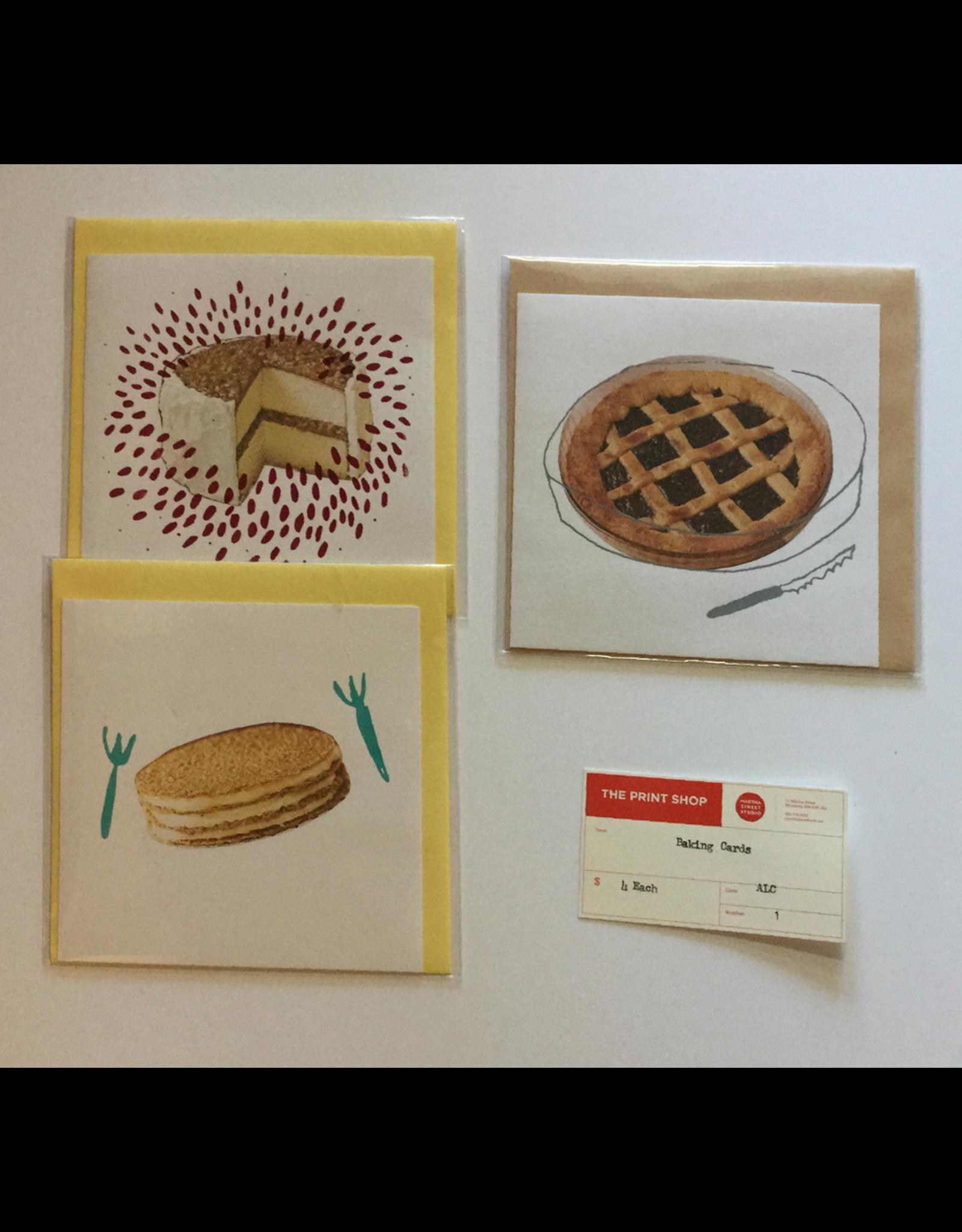 Christiani, Ann Baking Cards, Greeting Card