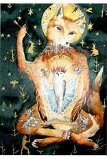 Scanlon, Rosemary Fox Icon - greeting card (blank)