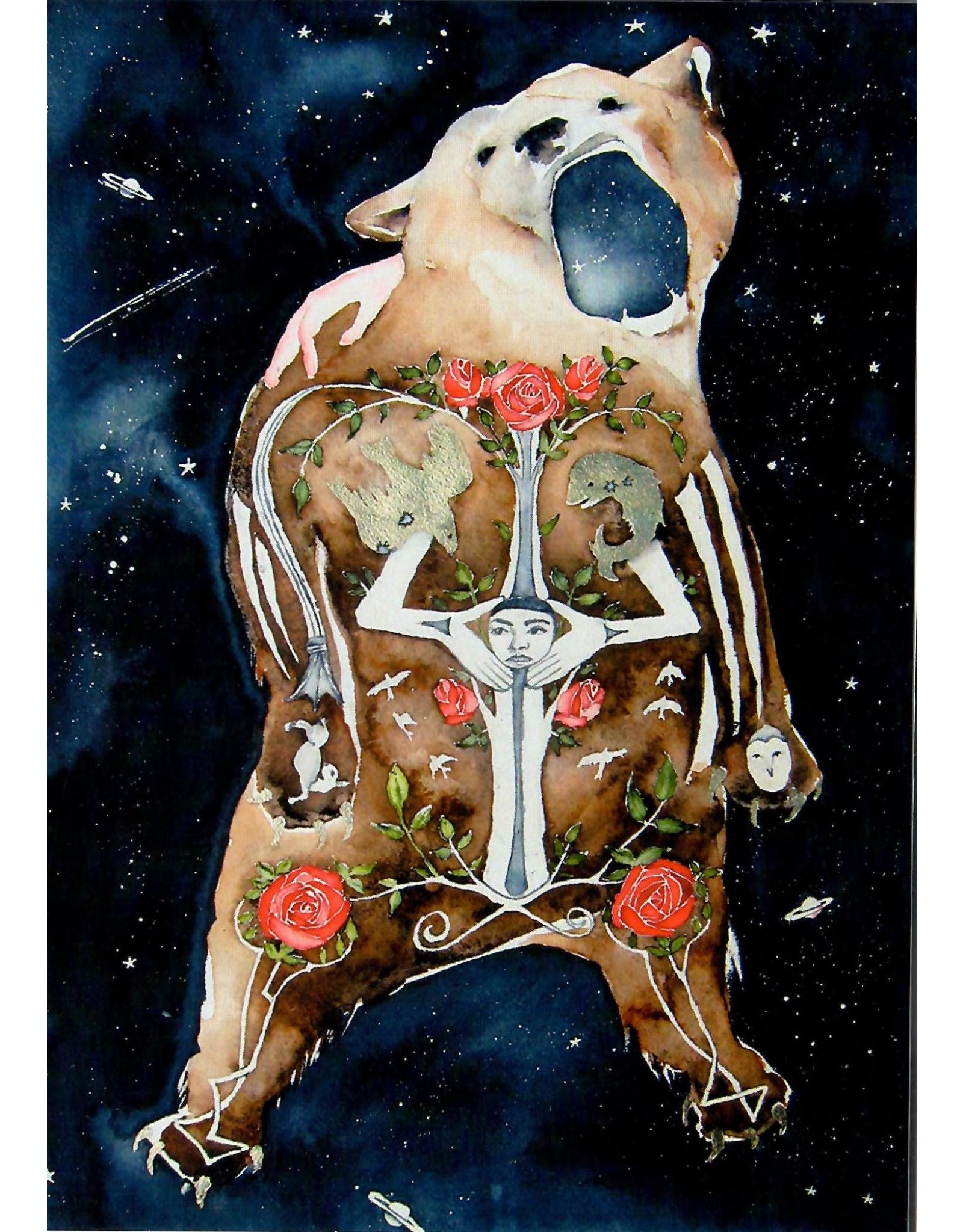 Scanlon, Rosemary Bear Icon - greeting card (blank)