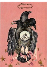 Scanlon, Rosemary Raven Icon - greeting card (blank)