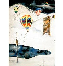 Scanlon, Rosemary Balloon Invasion - greeting card (blank)