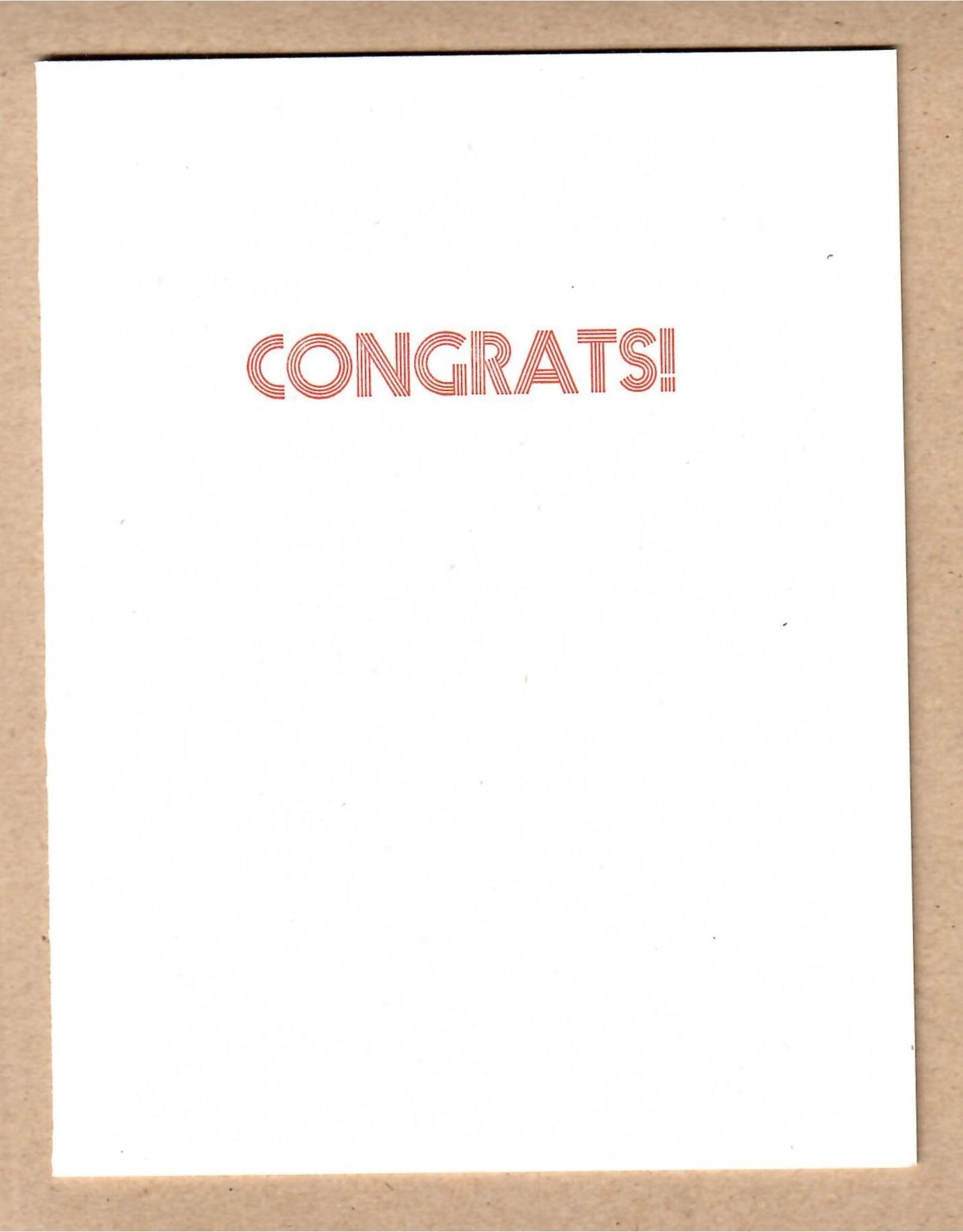 McLachlan, Sean Letterpress Card, by Printmonger Press