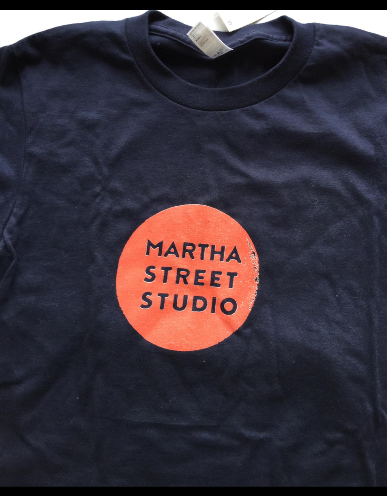 Martha Street Studio T-Shirt, Martha Street Studion Logo