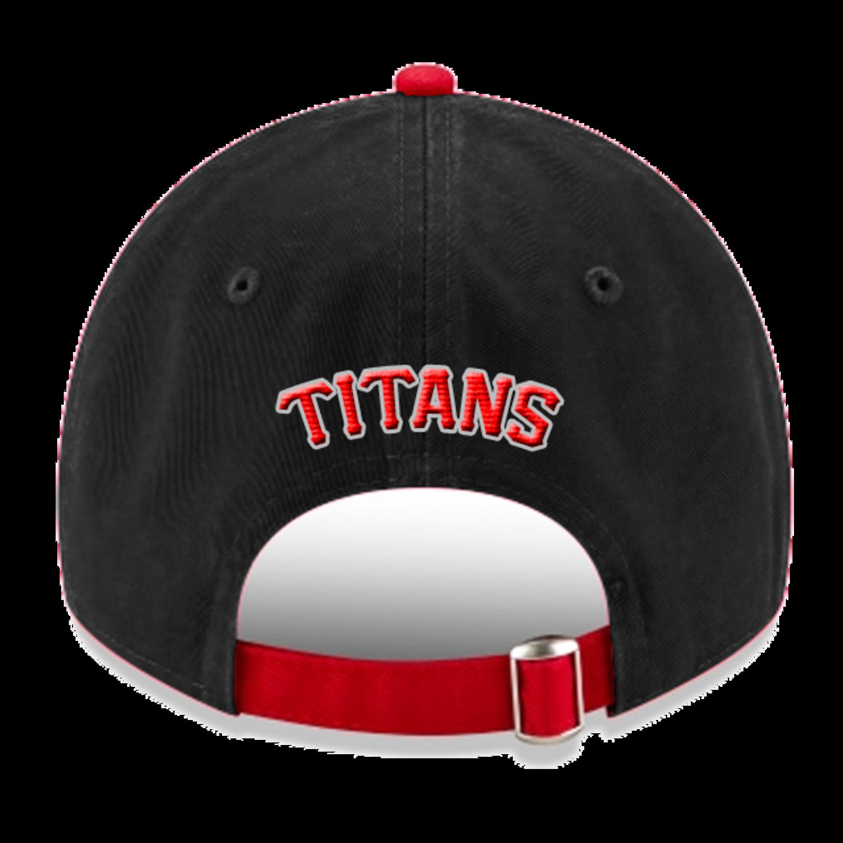 NEW ERA Titans 920 Black & Red Cap