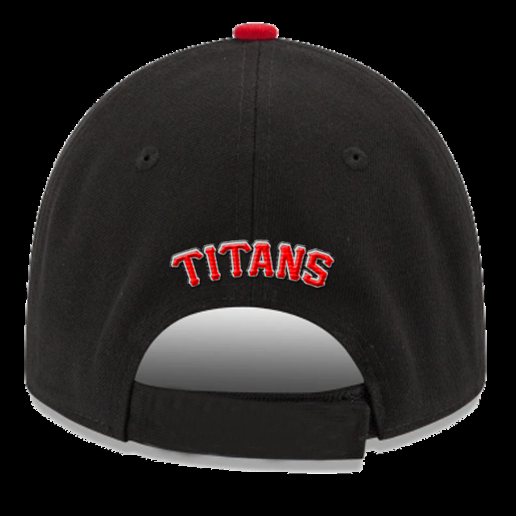 NEW ERA Titans 940 Kids' Black & Red Cap