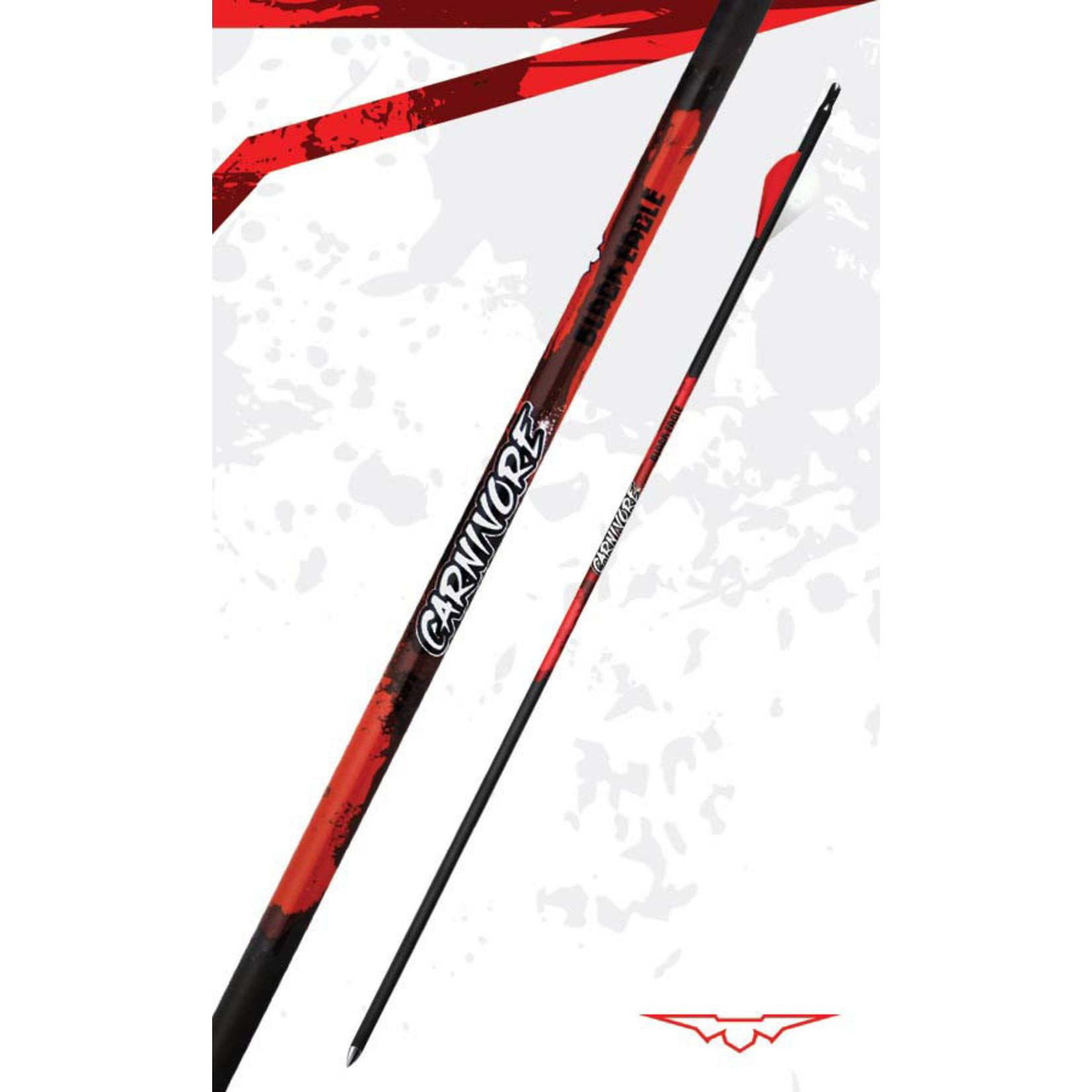Black Eagle Black Eagle Carnivore Arrows 300 .003 (6 Pk)