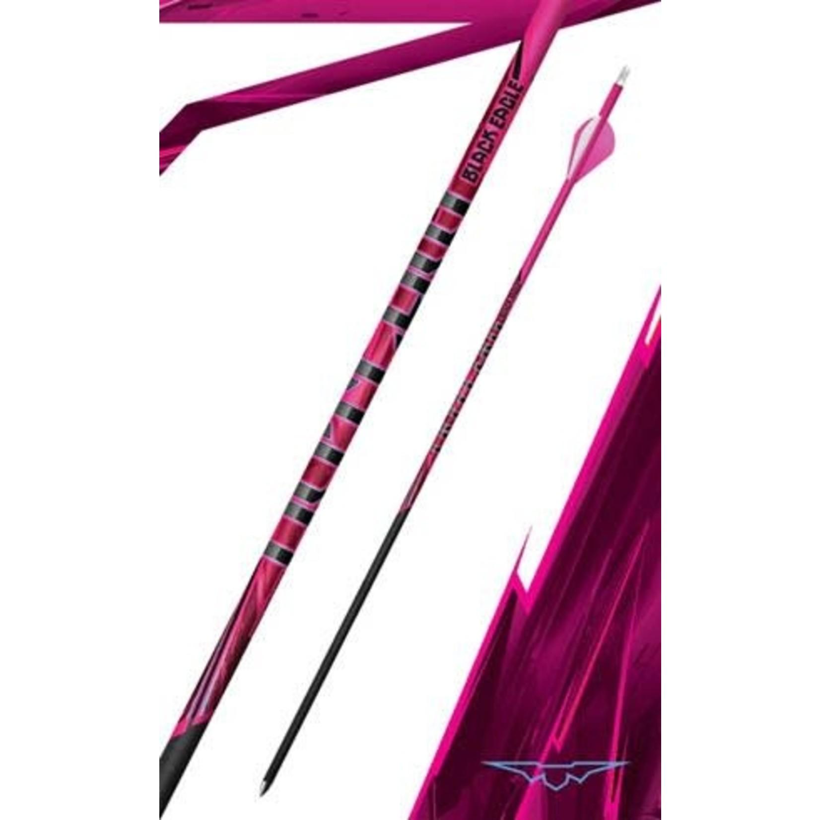 Black Eagle Black Eagle Outlaw Crested  Arrows Pink 600 (6pk)