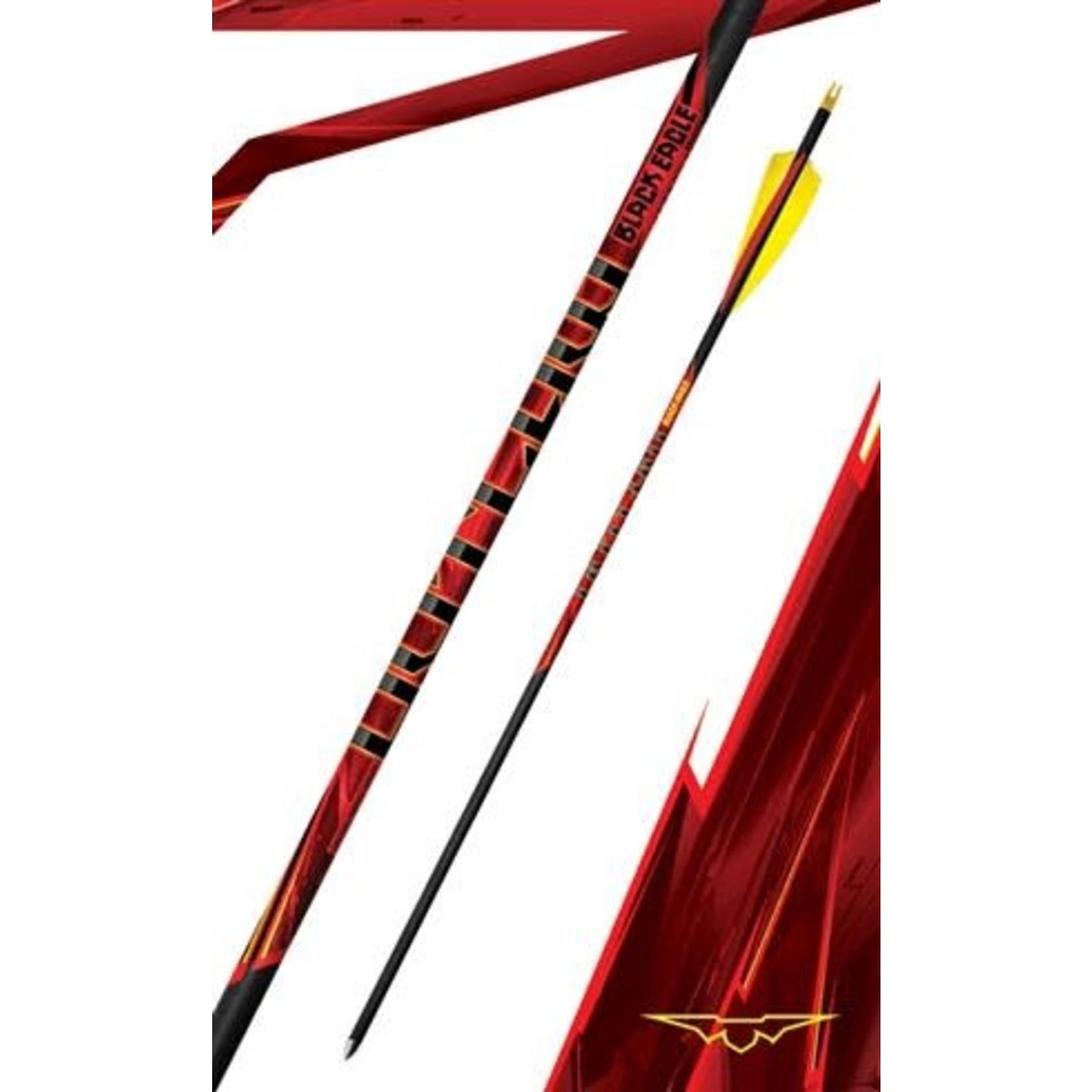 Black Eagle Black Eagle Outlaw Feather Fletched Arrows  600(6 Pk)