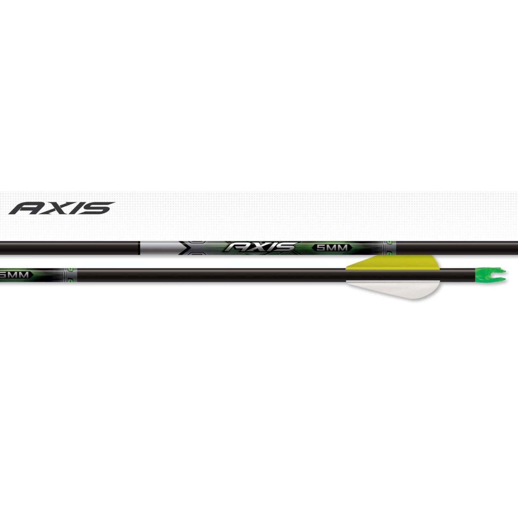 Easton Easton Axis 5mm Arrows 500 (1/2 doz)