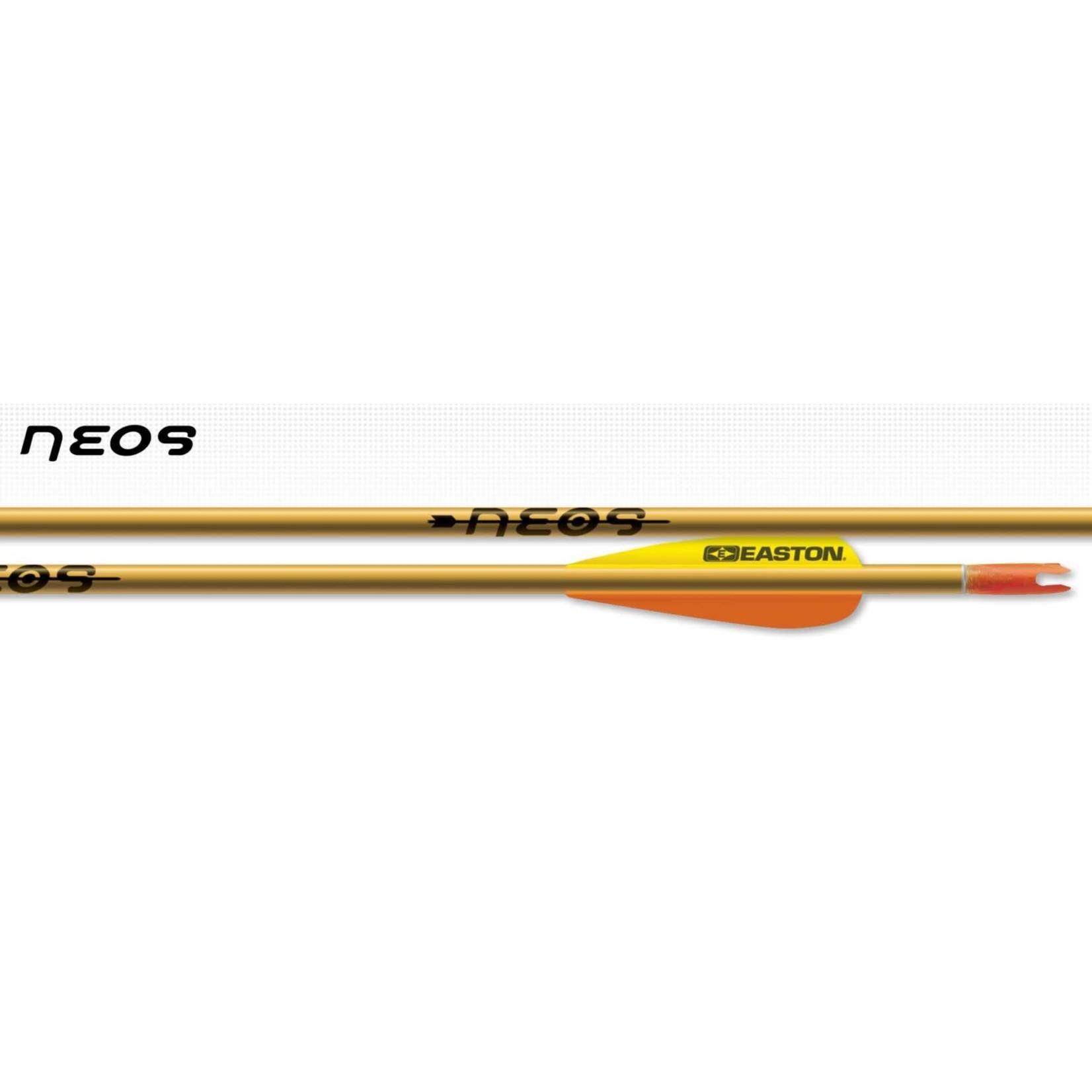 """Easton Easton 1618 Neos Arrows 3"""" Feathers w/Points (1/2 doz)"""
