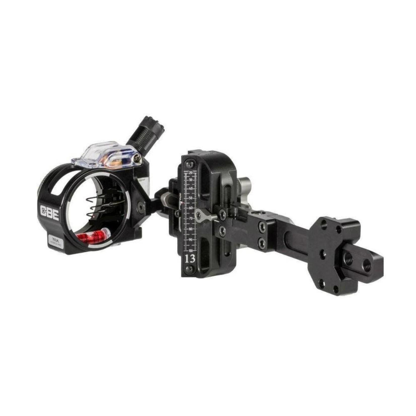 Custom Bow Equipment CBE Tek Hybrid Adjustable 5-Pin .019 RH/LH