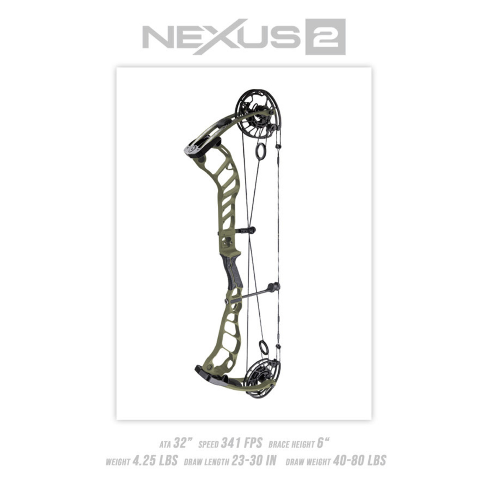 Prime Prime Nexus 4 RH 65#  Black Riser  Morel Limbs