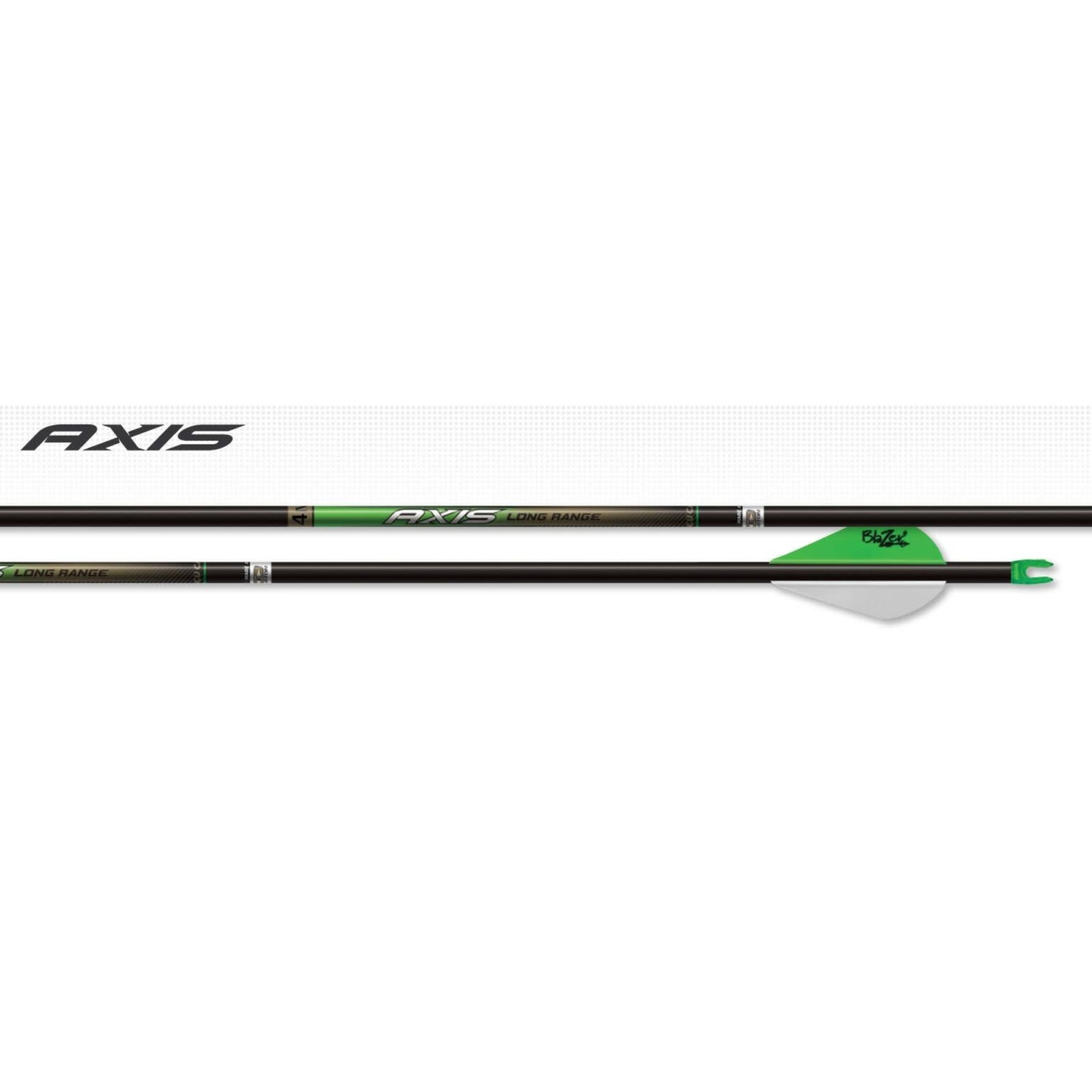 Easton Easton Axis Long Range 4mm Arrow Shafts 400 (1/2 doz)
