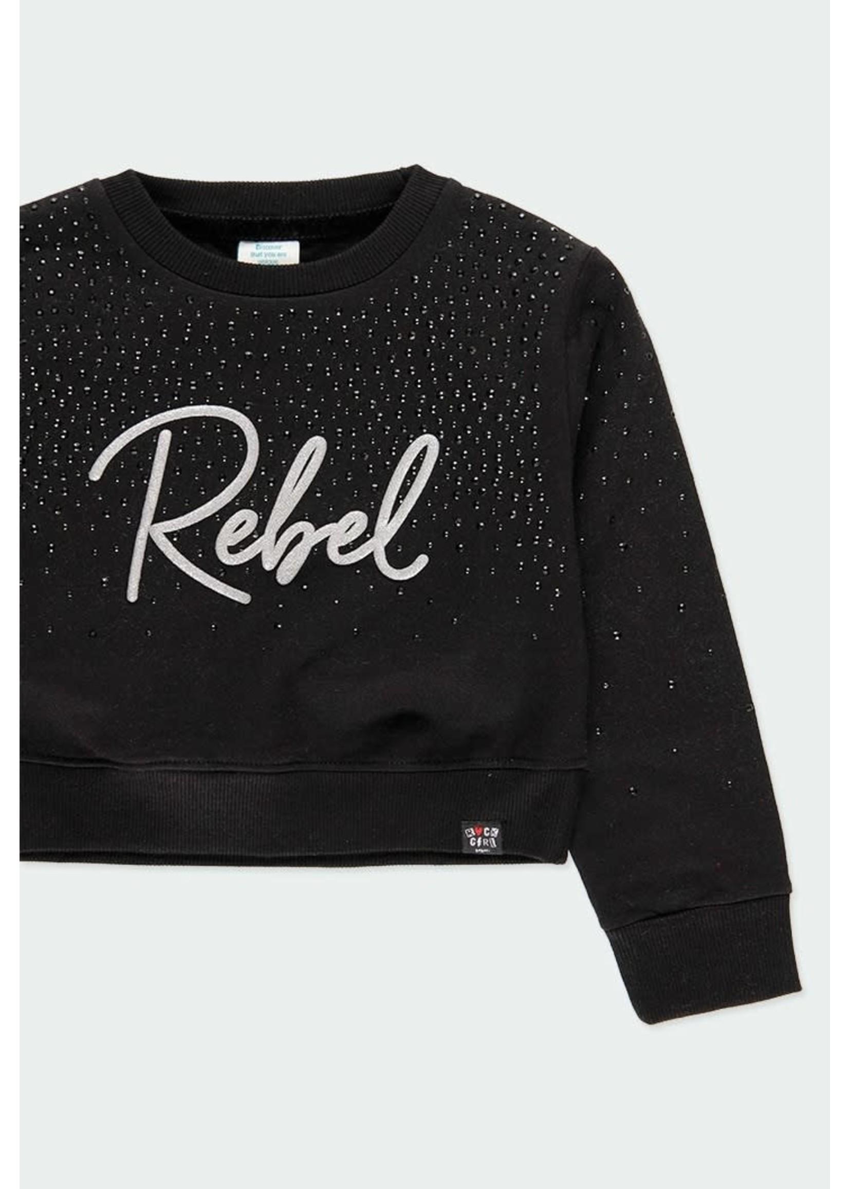"""Boboli Bo. Sweatshirt """"Rebel"""""""