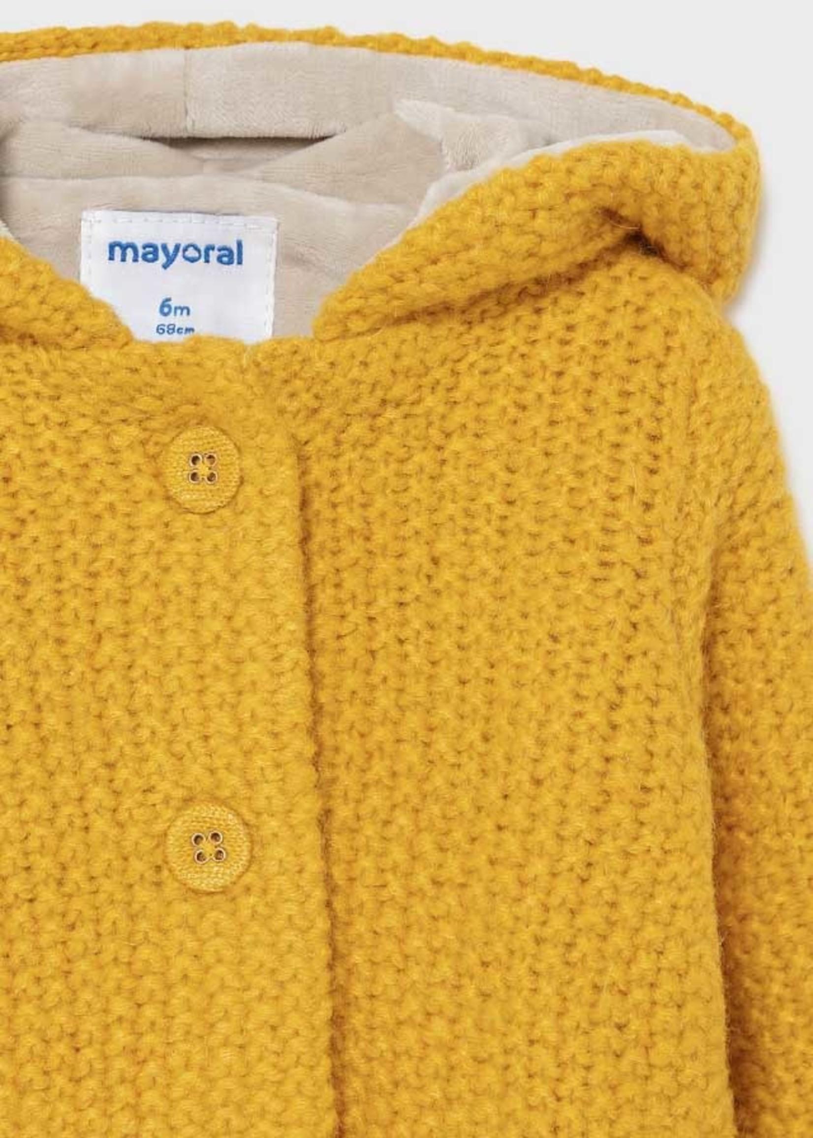 Mayoral M Knit Jacket w/Hood