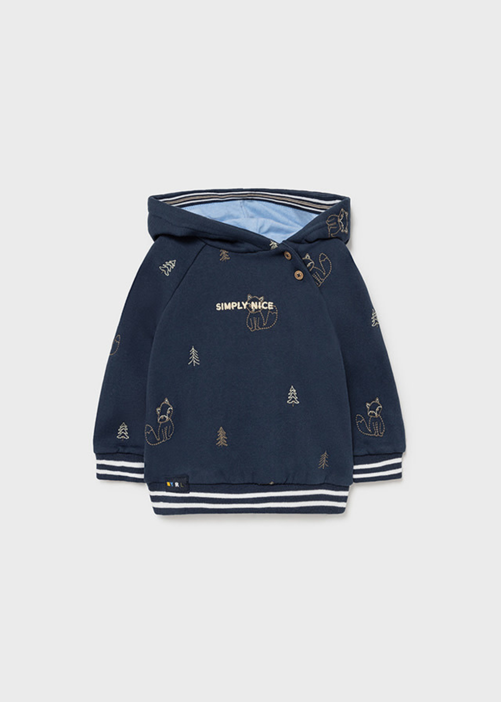 Mayoral M Embroidered Popover