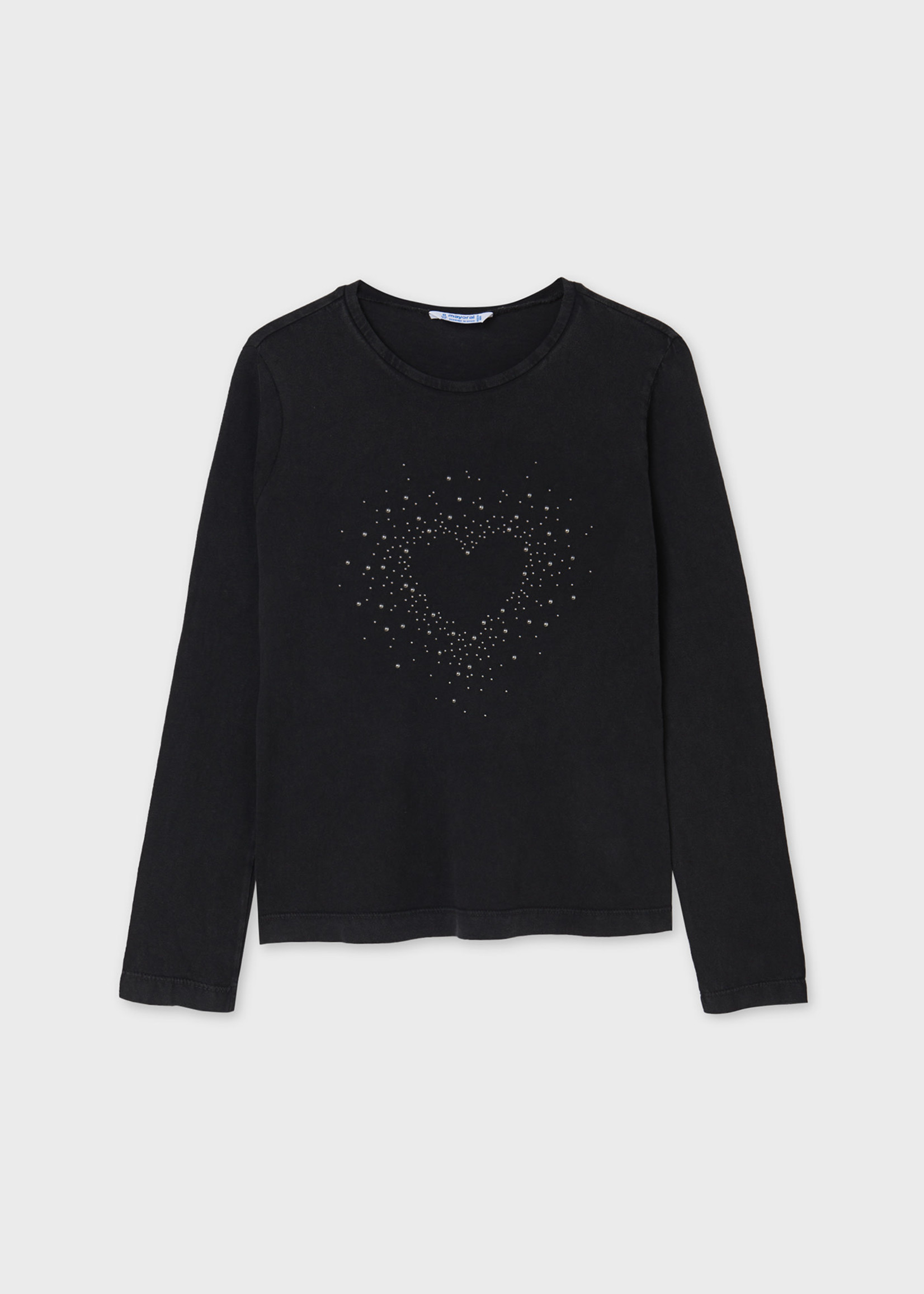 Mayoral M Studded Heart Top