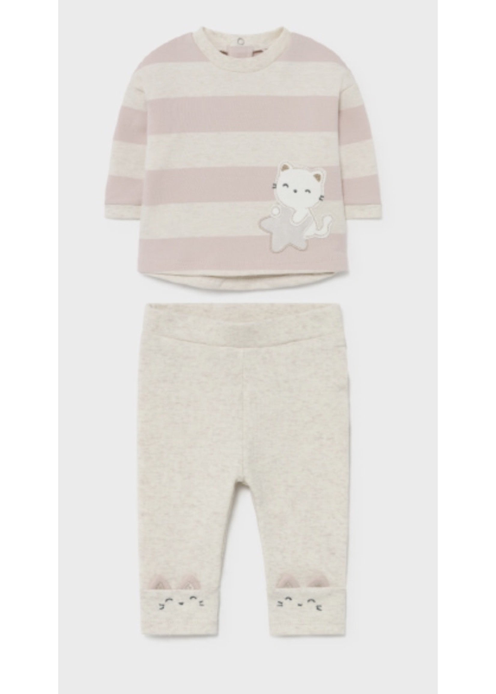 Mayoral M Kitty Striped Tracksuit