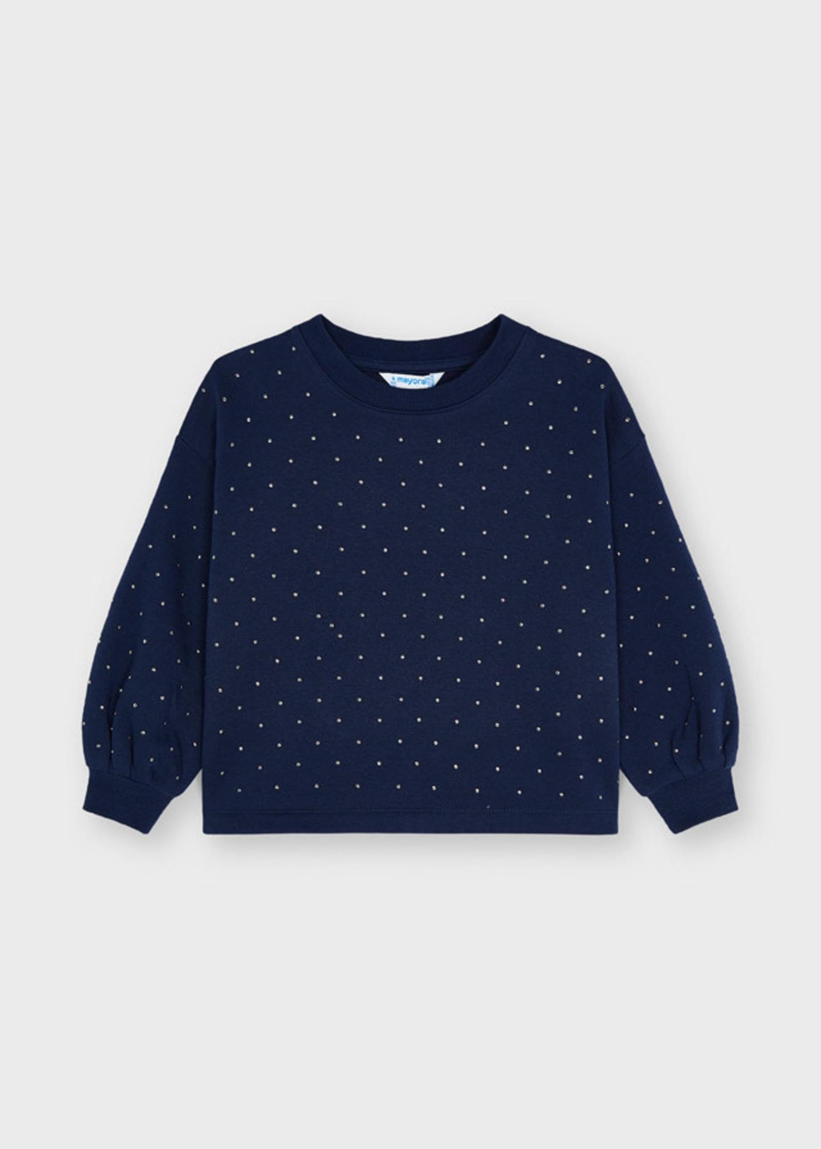 Mayoral M Sweatshirt w/Studs