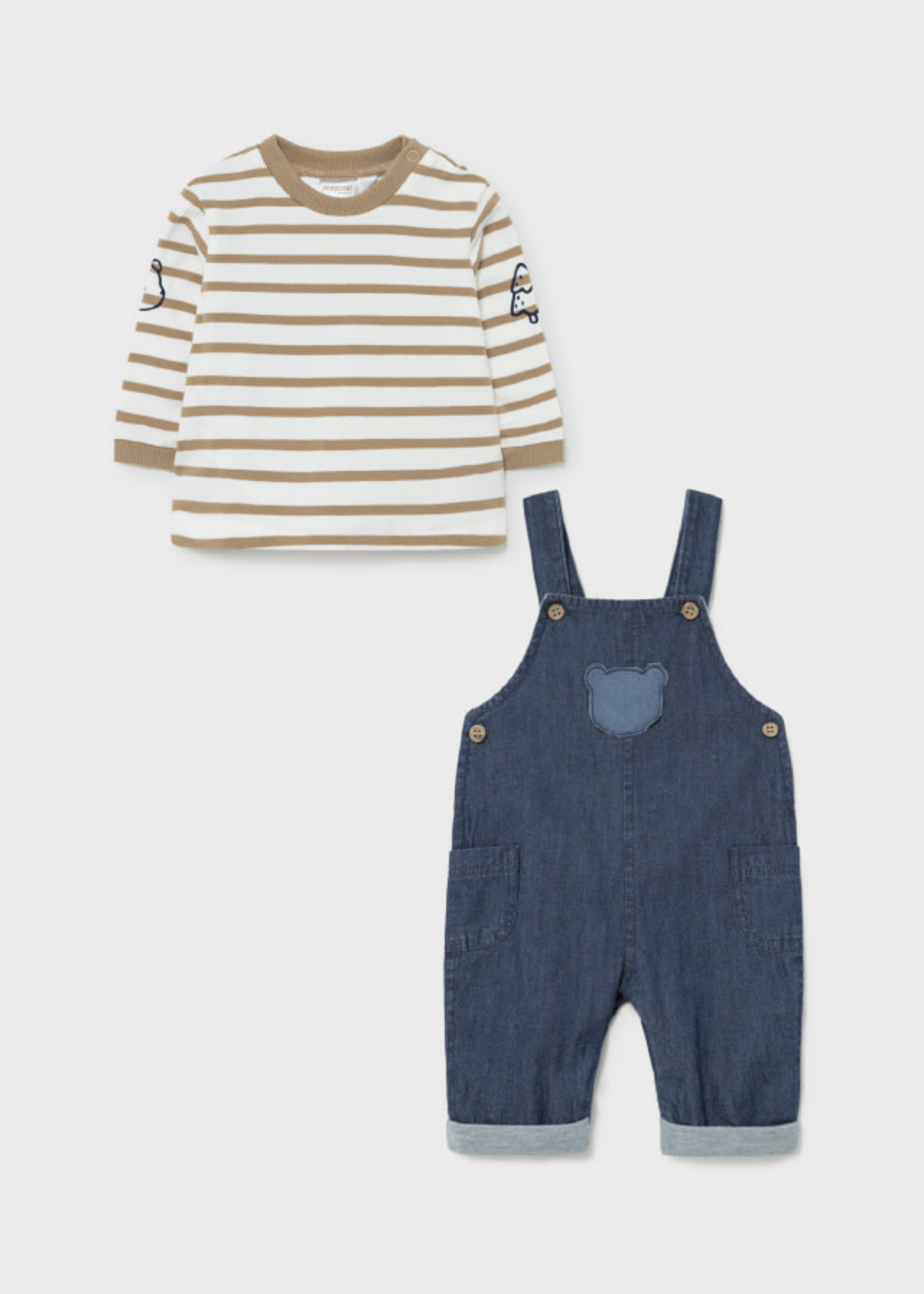 Mayoral M Lined Overall Set