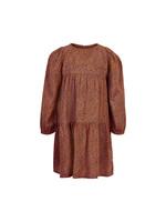Creamie Leaf Dress