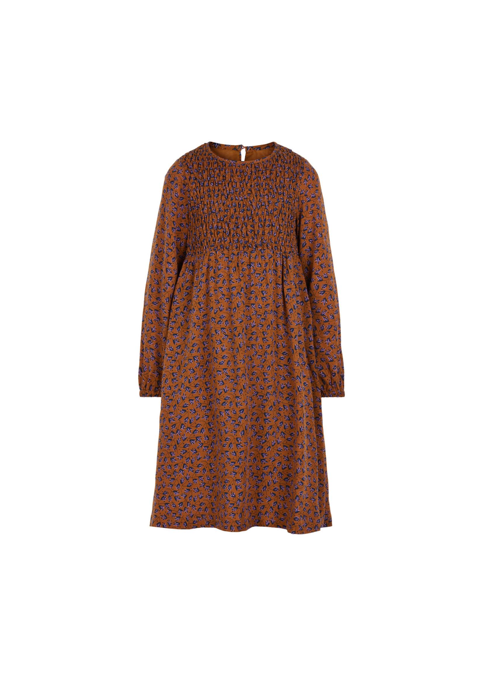 Creamie Creamie Long Leaf Dress