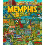 Evelina Dillon Memphis TN 24 X 32 Art Print
