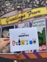Taylor Pendleton Drink Memphis Print