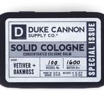 Duke Cannon Vetiver + Oakmoss Solid Cologne