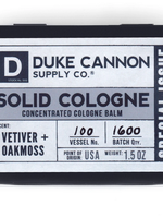 Duke Cannon Vetiver + Oakmoss Solid Cologne