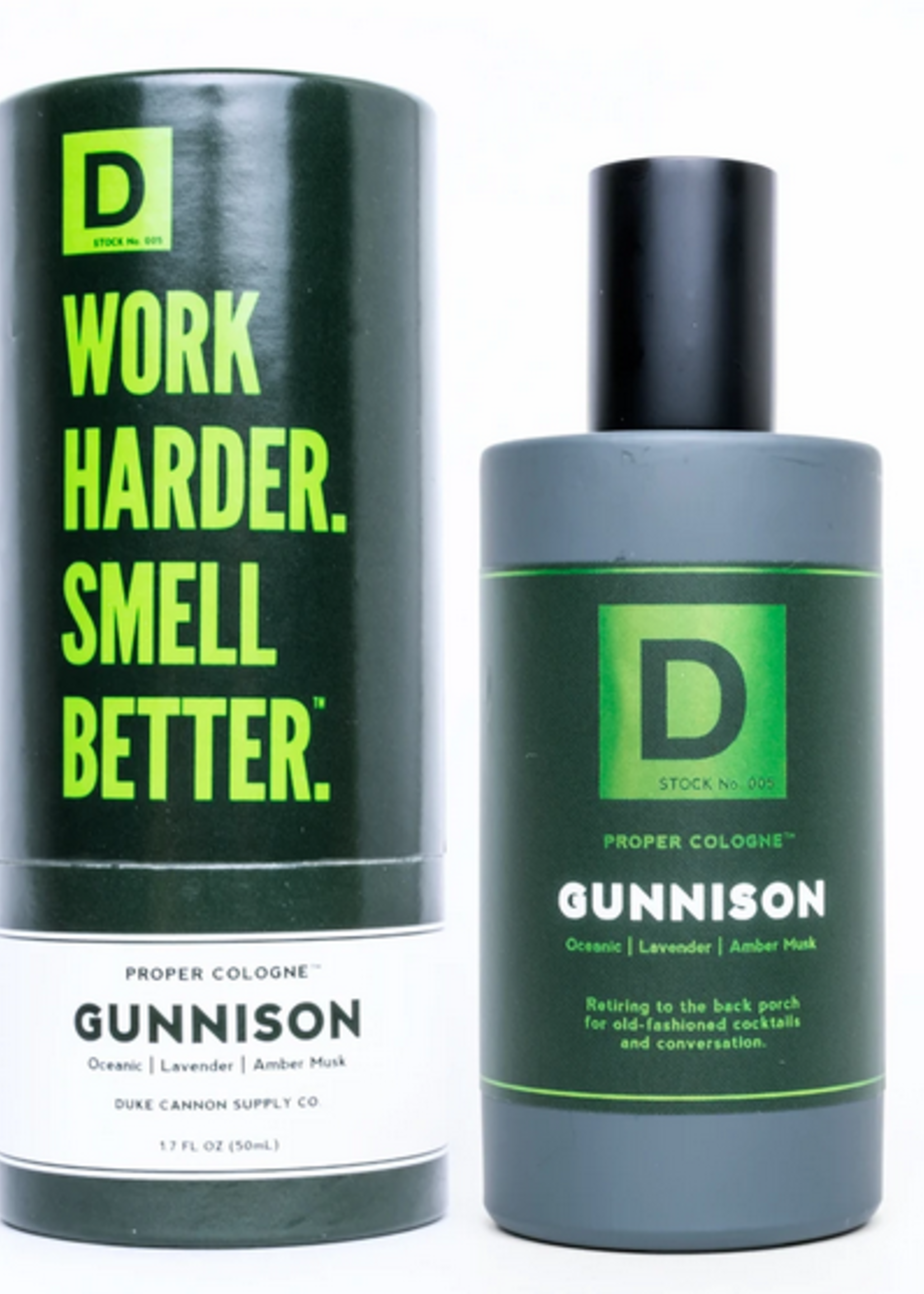Duke Cannon Gunnison Proper Cologne