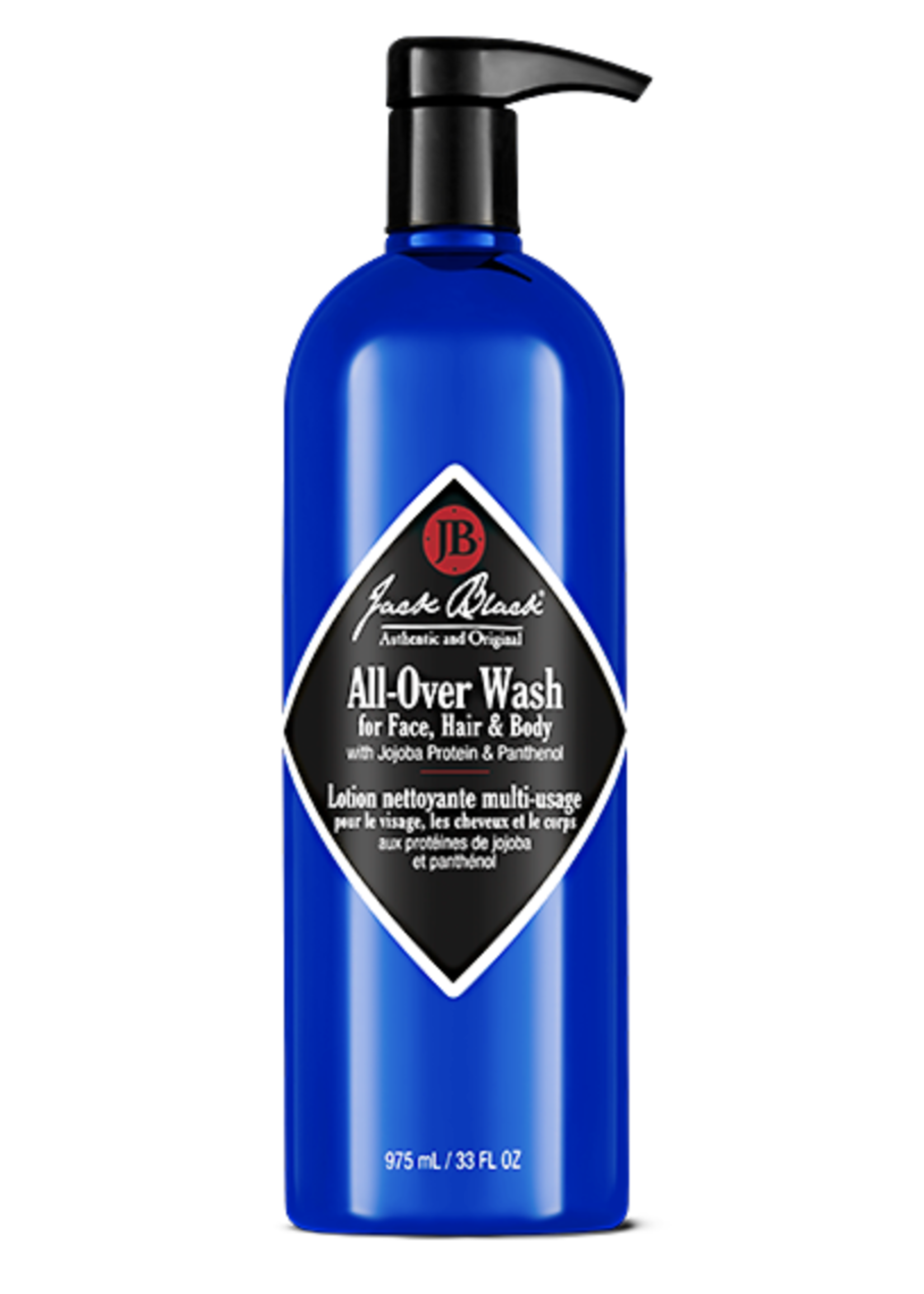 Jack Black All-Over Wash, 33 oz. w-pump