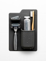 Tooletries The Harvey Toothbrush & Razor Holder Charcoal