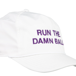 Onward Reserve Run The Damn Ball Rope Hat White/Purple