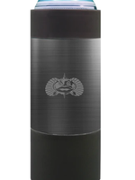 Toadfish Non-Tipping Slim Can Cooler Graphite