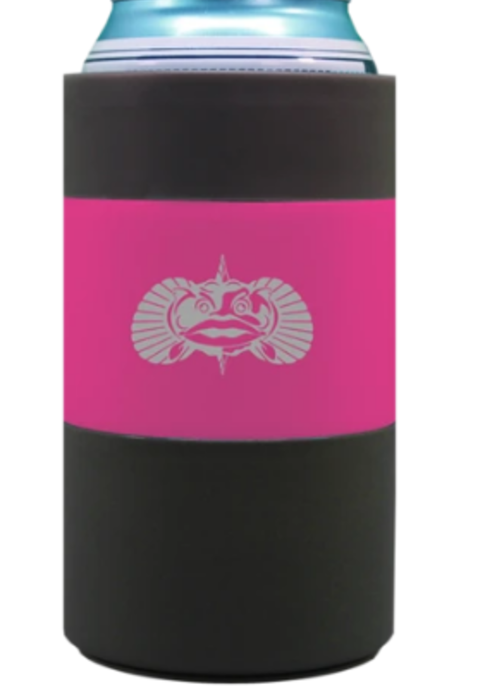 Toadfish Pink Non-Tipping Can Cooler