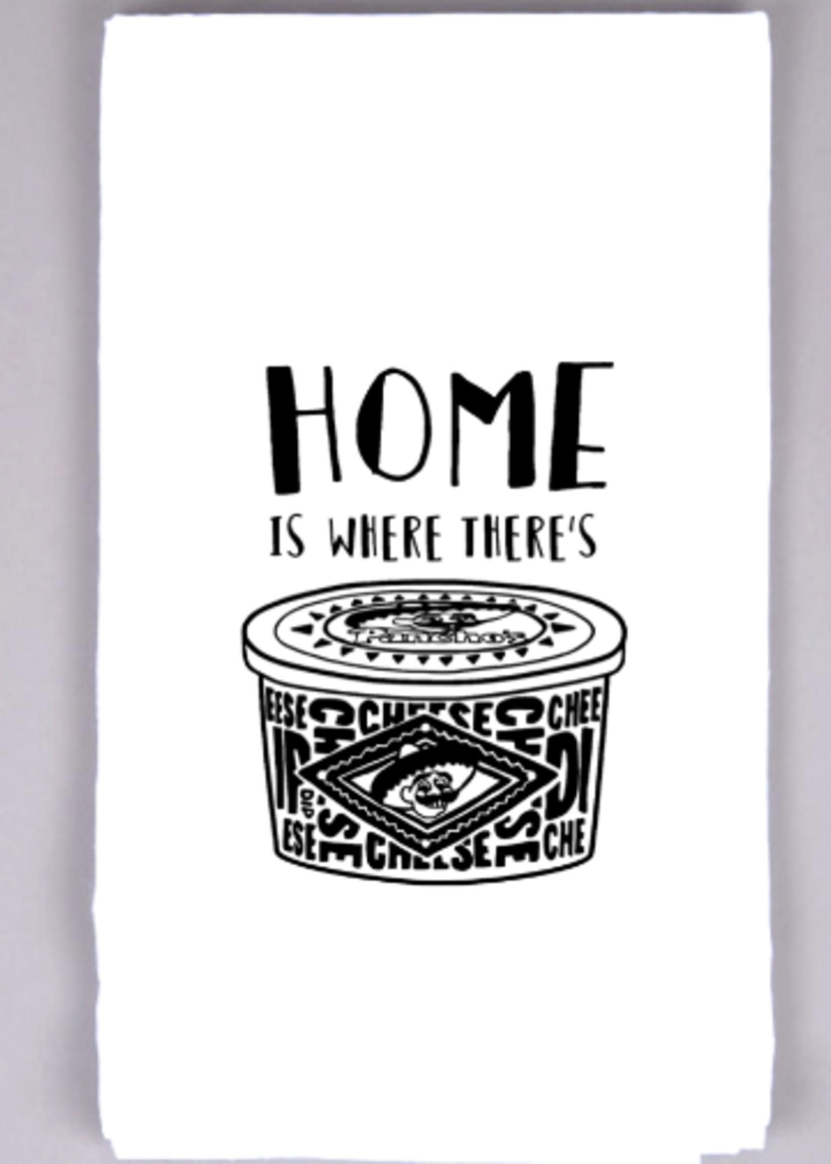 Nine OH Wonderful Home is Panchos Tea Towel