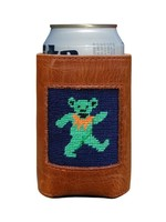 Smathers & Branson Dancing Bear Needlepoint Coozie