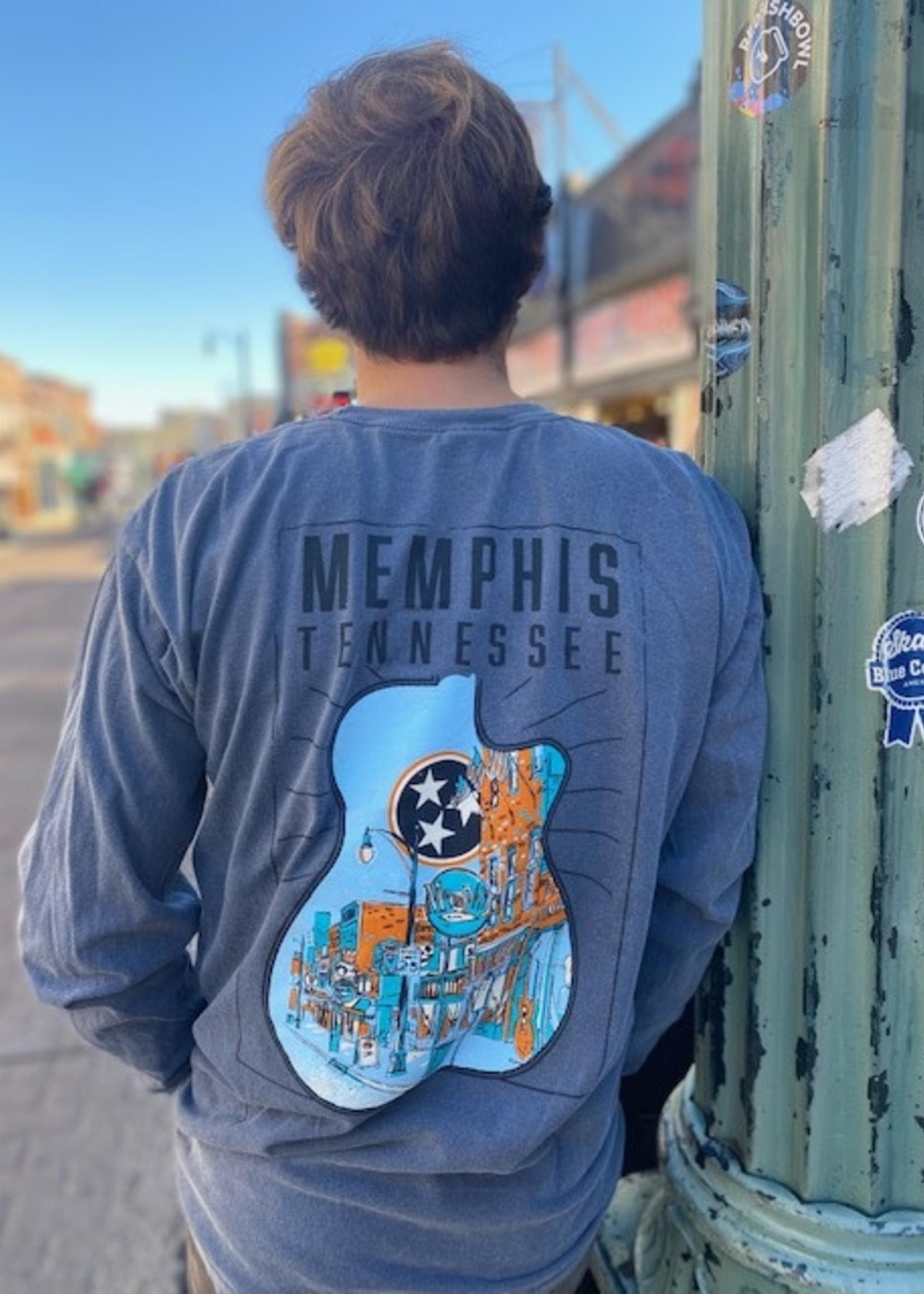 B Unlimited Memphis Guitar L/S