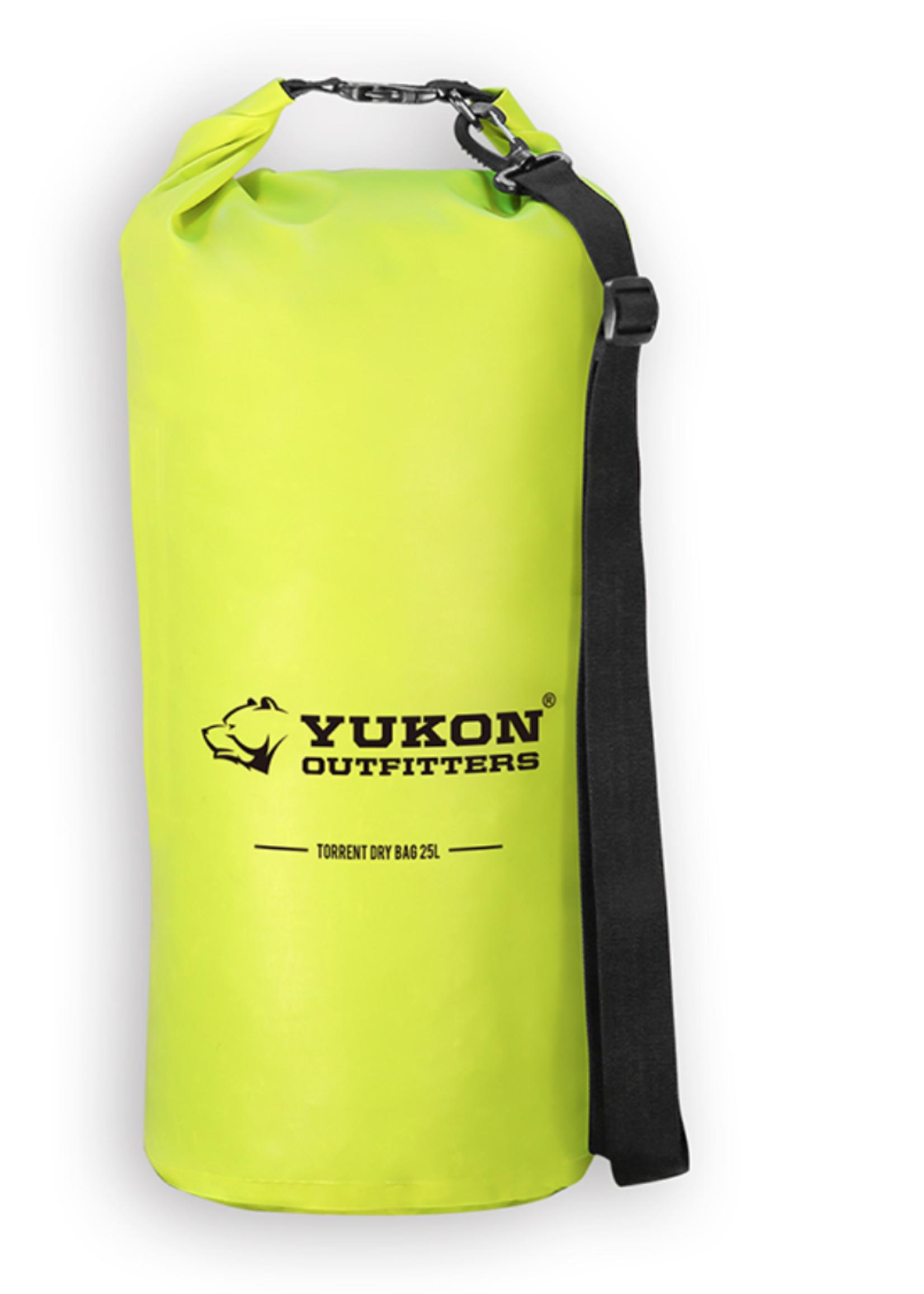Yukon Outfitters Torrent Dry Bag 25 Hyper Green