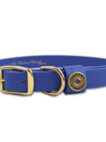 Over Under Water Dog Collar Blue