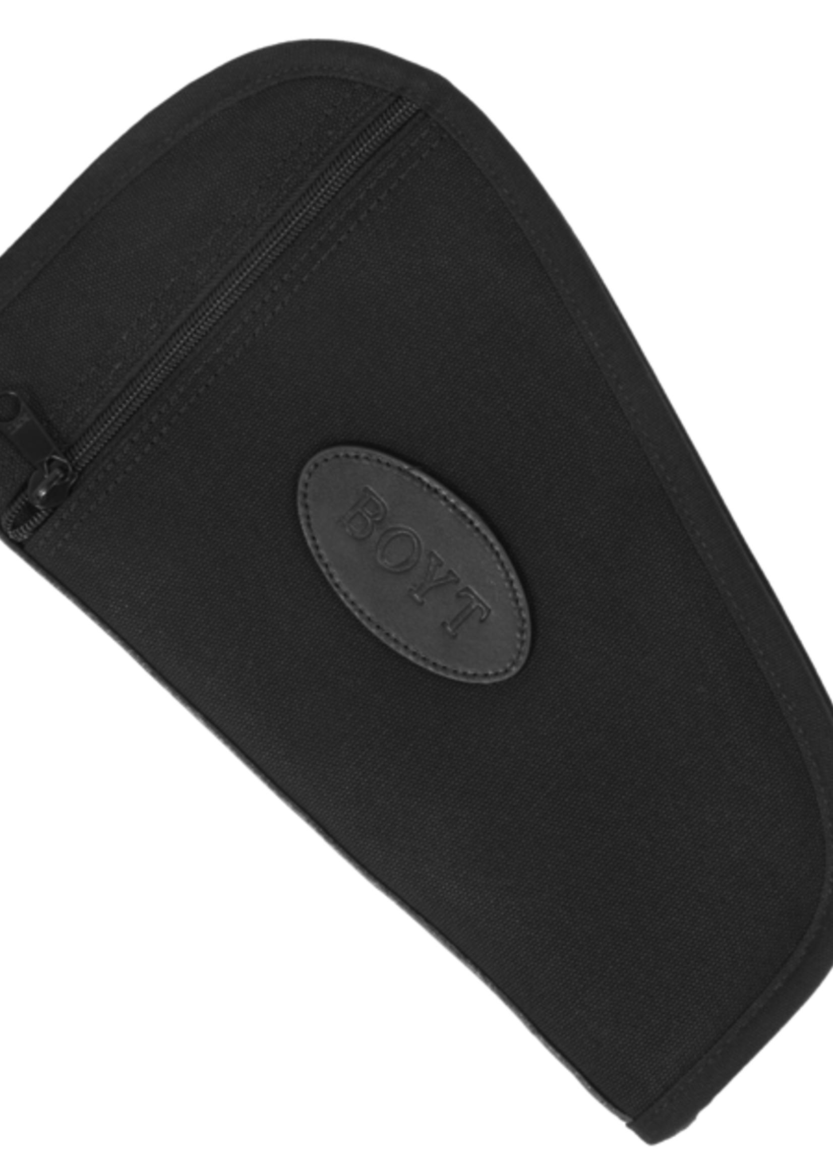 "BOYT HARNESS COMPANY Boyt Soft Handgun Case 14"" w/ Pocket Black"
