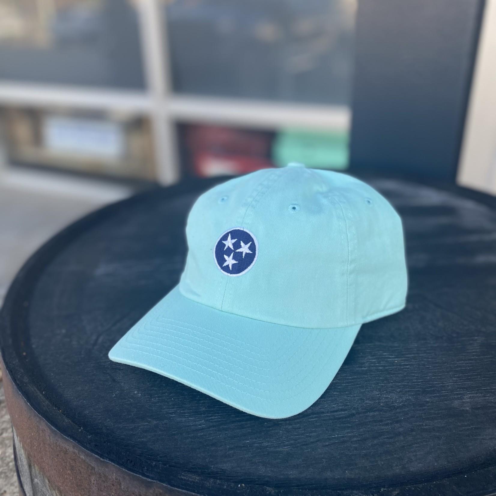 Volunteer Traditions Tristar Hat Mint-Blue