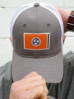 Volunteer Traditions TN Flag Promesh Grey w/ Orange