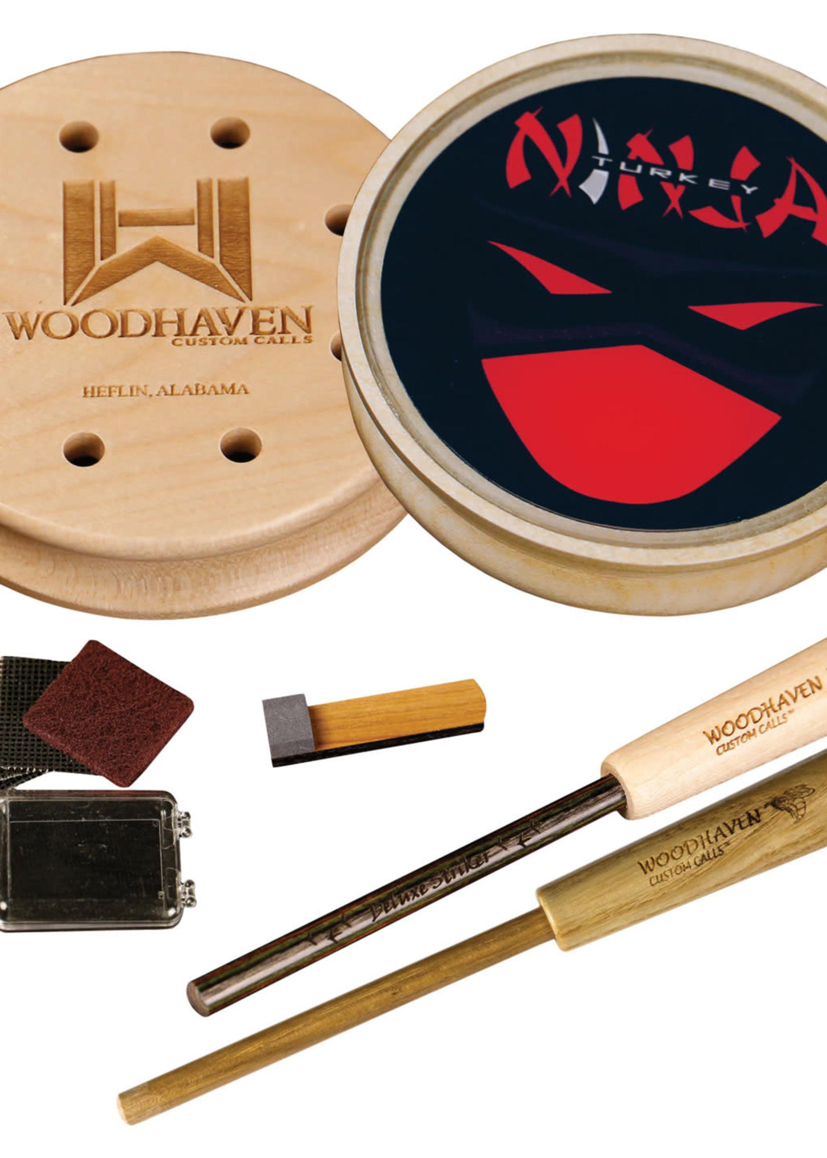 Woodhaven Custom Calls Woodhaven Red Ninja Pot Call