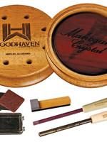 Woodhaven Custom Calls Woodhaven Mahogany Crystal Pot Call
